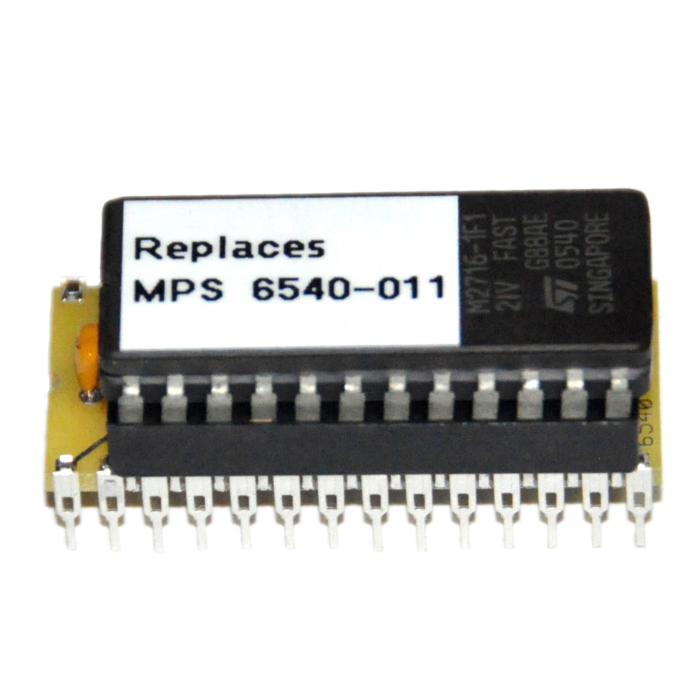 Mps 6540 Commodore Pet 2001 Rom Adapter Obsolete Rev 3 Version Commodorecircuitboardclockjpg