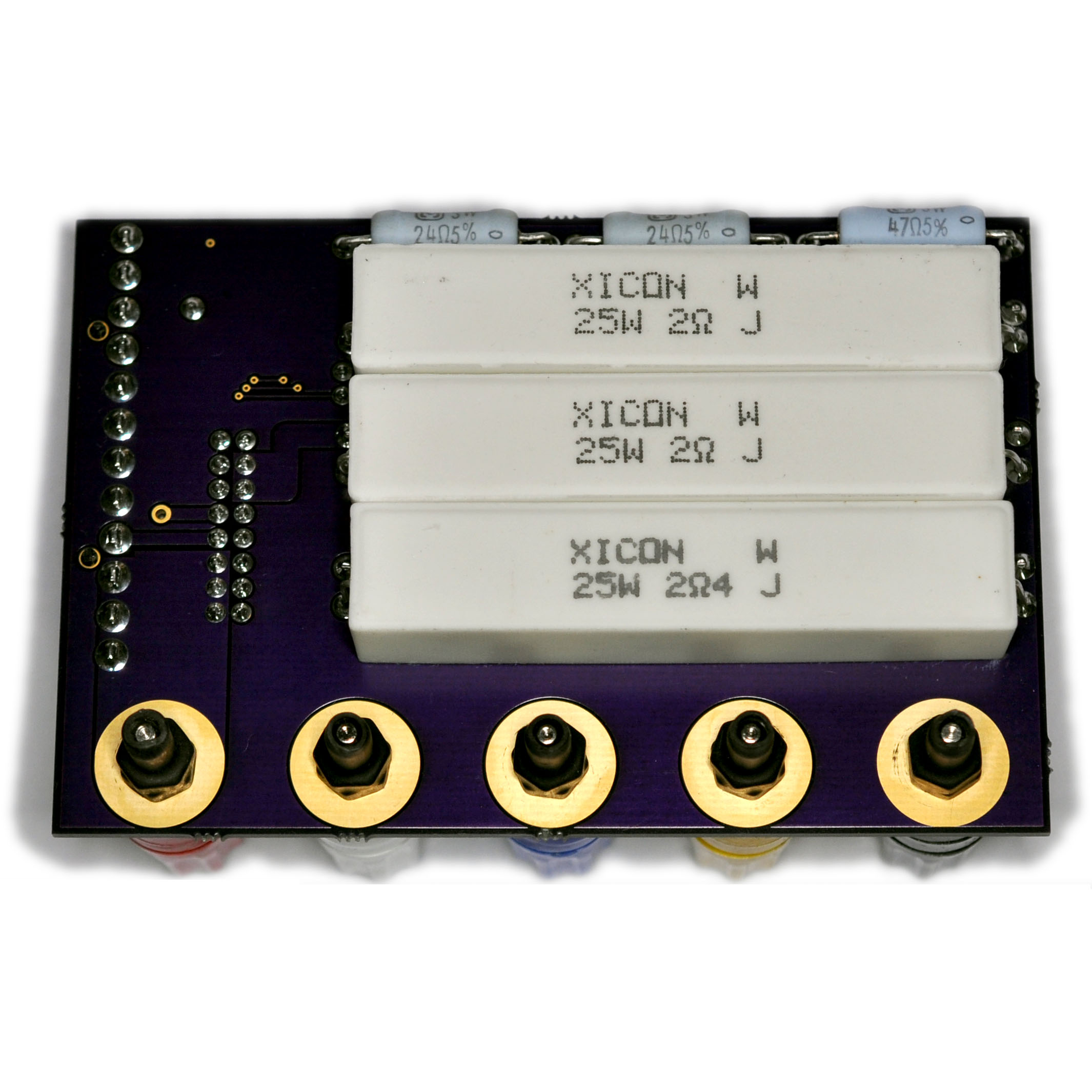 Power Supply Tester : Pc at ps power supply load tester d asaro designs