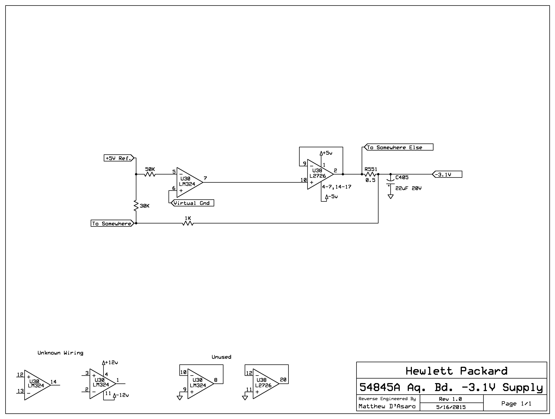 Fixing an HP / Agilent 54845A infinium Oscilloscope | D'Asaro Designs