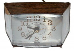 LightedAlarmClock