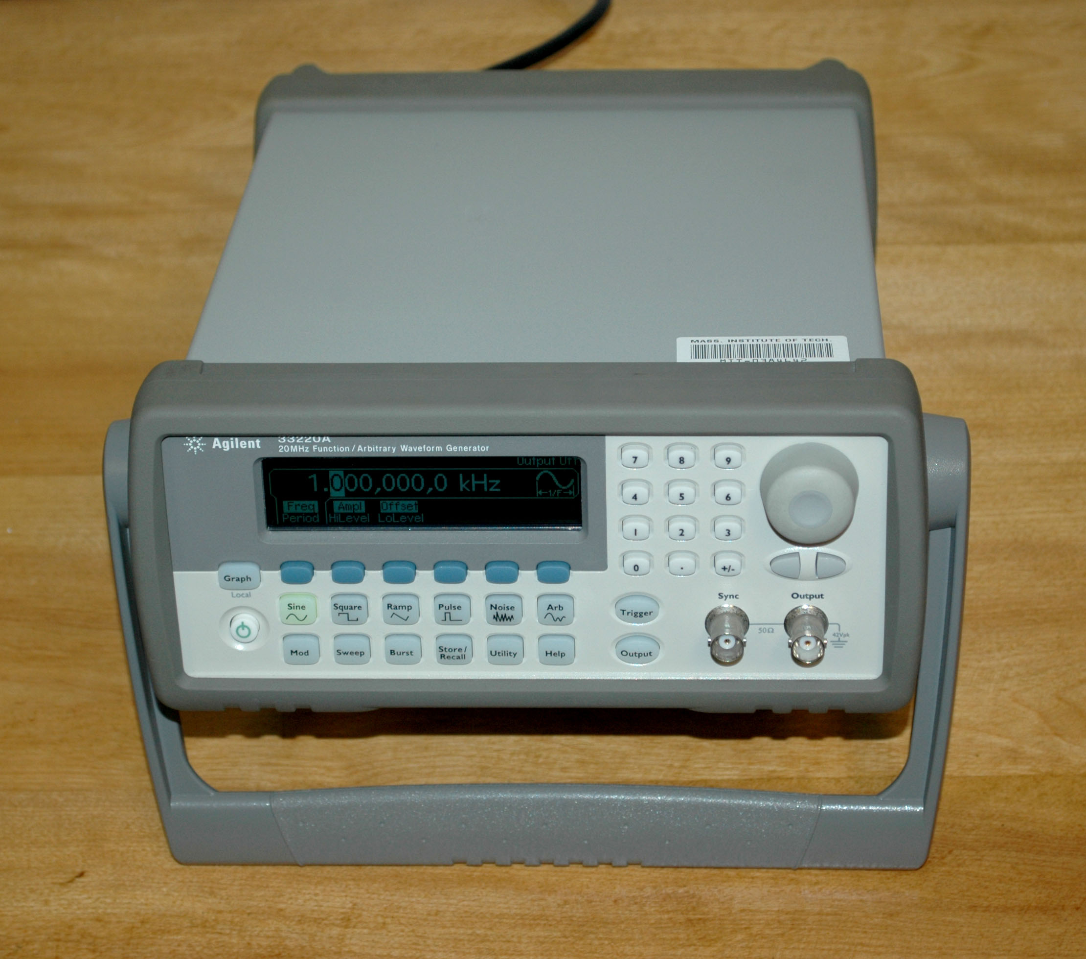 cleaning the encoders in agilent 33220a function generators d rh dasarodesigns com Agilent 33220A Manual Function Generator