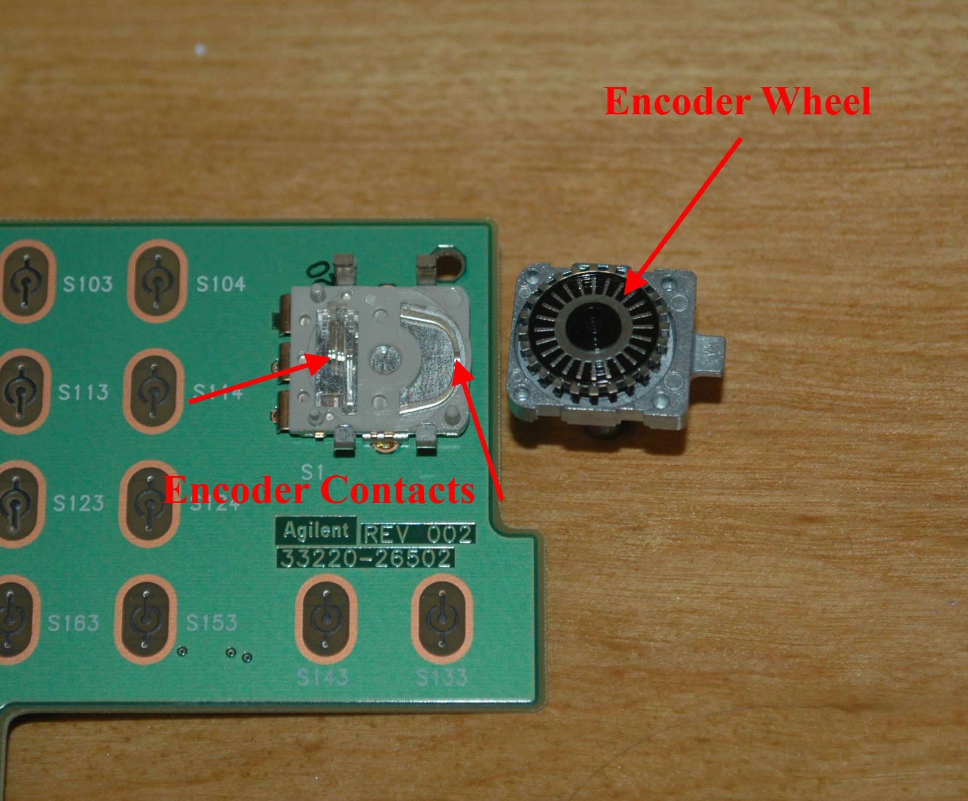 Figure1 Basic Rotary Encoder Circuit