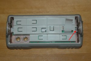 Remove Control Panel Board Retainer Screw
